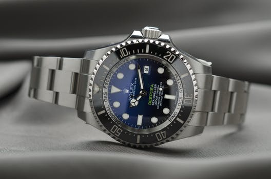 Rolex Watch that has been sent to Rolex watch repair service.